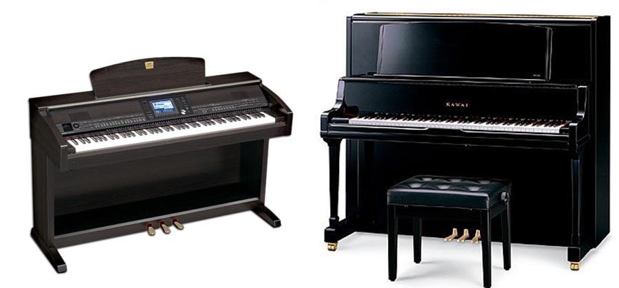 Piano điện và Piano cơ nên chọn loại nào?